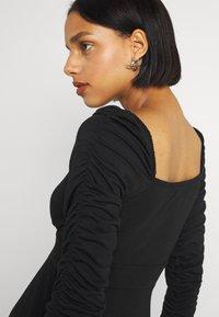 NA-KD - PAMELA REIF DRAPED  - Jersey dress - black - 3