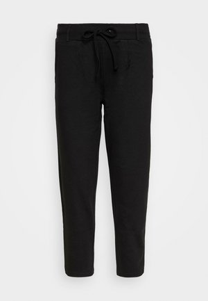 BASIC - Punto Joggers - Trousers - black