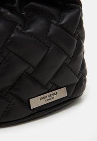 Kurt Geiger London - KENSINGTON DRAWSTRING - Across body bag - black - 3