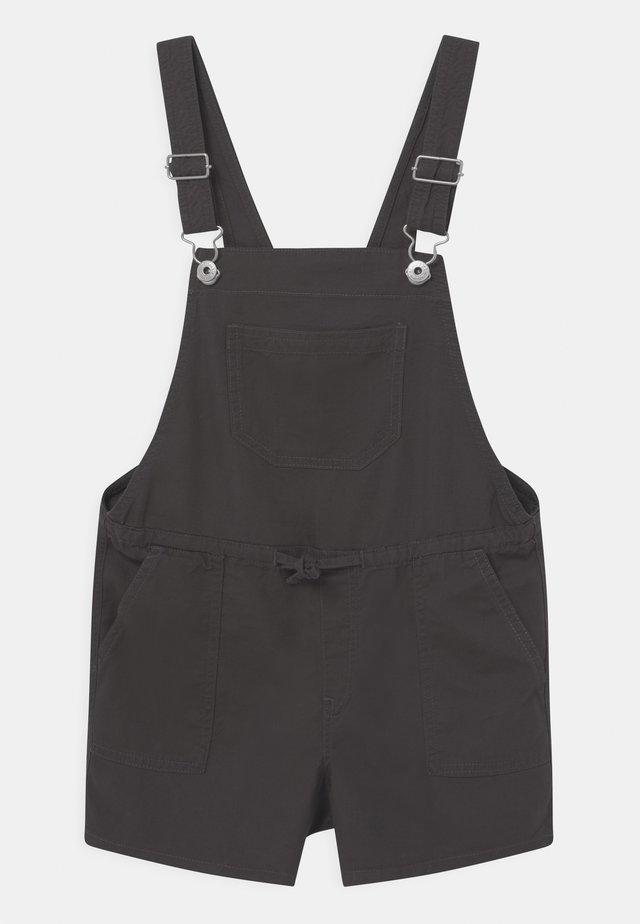 Dungarees - washed black