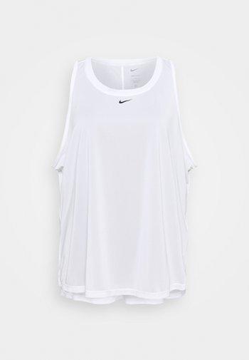 ONE TANK - T-shirt sportiva - white/black