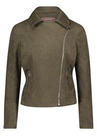 Cartoon - Faux leather jacket - dunkelgrün - 2