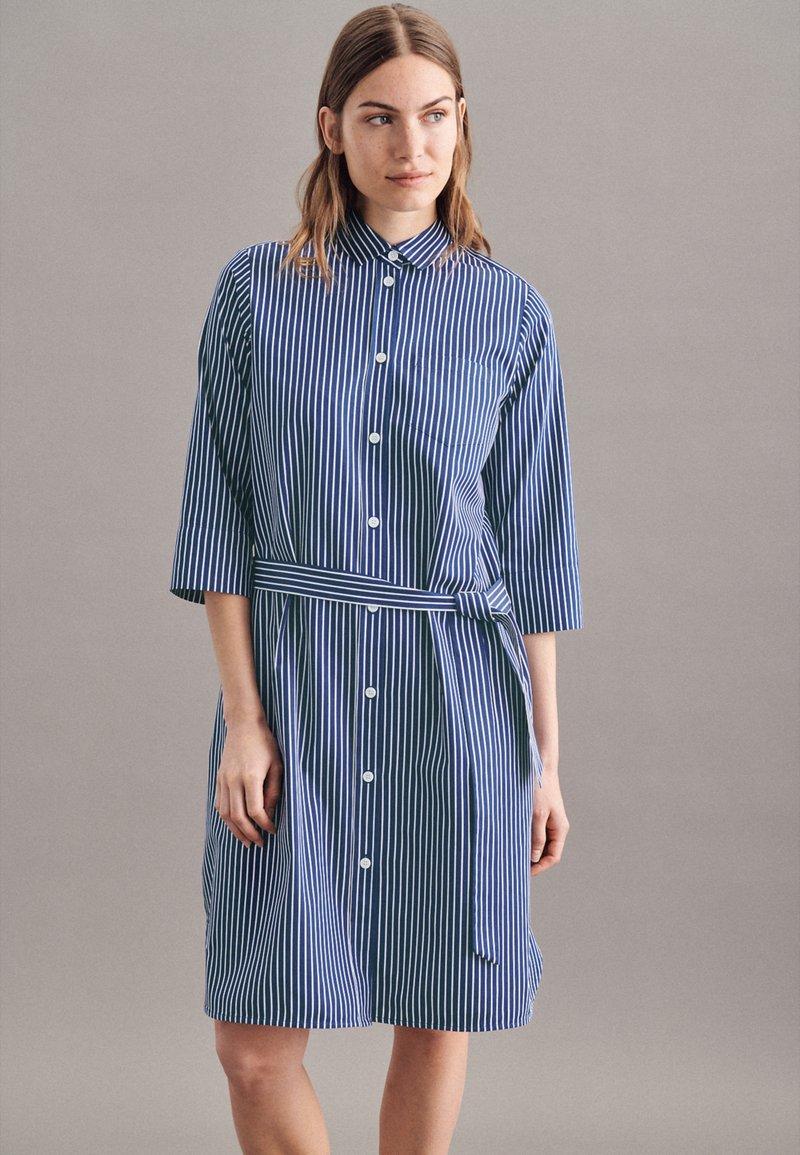 Seidensticker - Shirt dress - dunkelblau