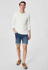 Selected Homme - Long sleeved top - bone white - 1