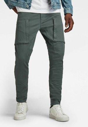 ZIP POCKET 3D SKINNY CARGO - Cargo trousers - graphite