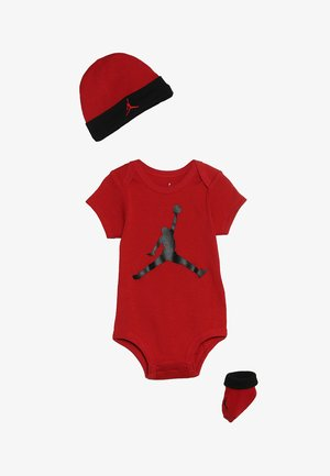 JUMPMAN BOOTIE SET - Jumpsuit - gym red/black
