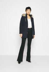 Dorothy Perkins - TRIM COAT - Zimní kabát - navy - 1