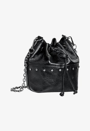 Taška spříčným popruhem - black