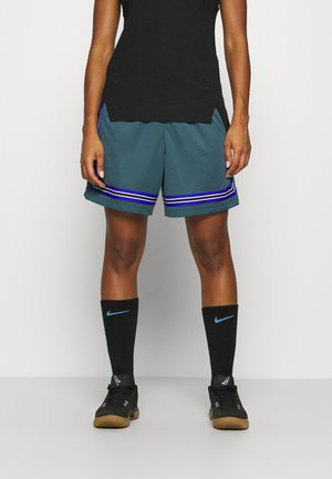 FLY CROSSOVER SHORT - kurze Sporthose - ash green/hyper royal