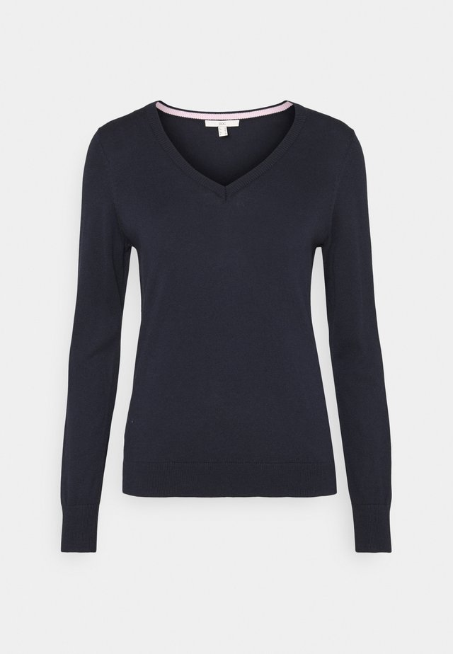 SWEATER  - Pullover - navy