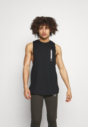 WARRIOR CUT OFF STRINGER - Top - black