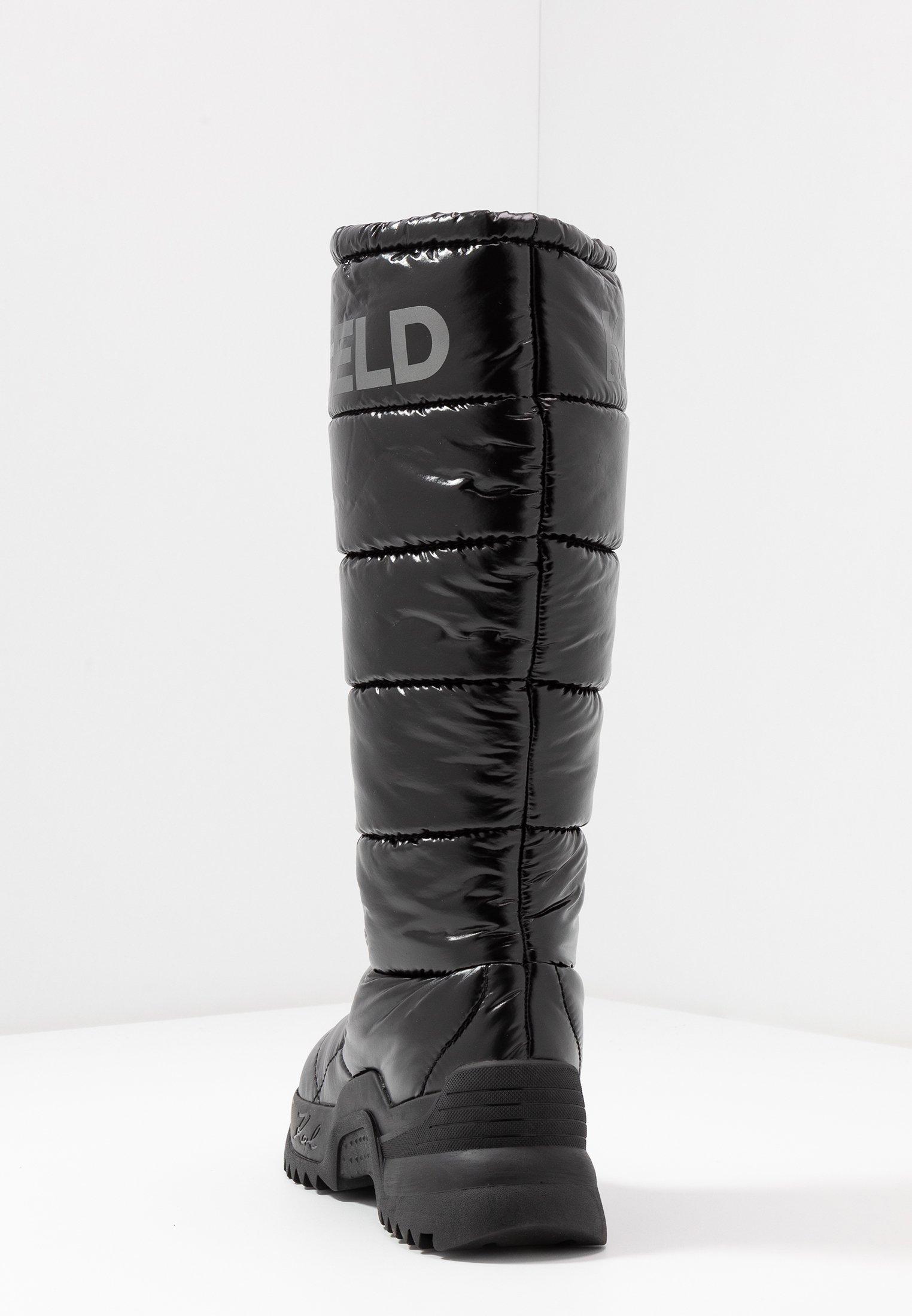 QUEST BOOT Bottes de neige black