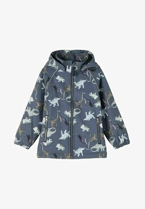 ALFA - Soft shell jacket - ombre blue