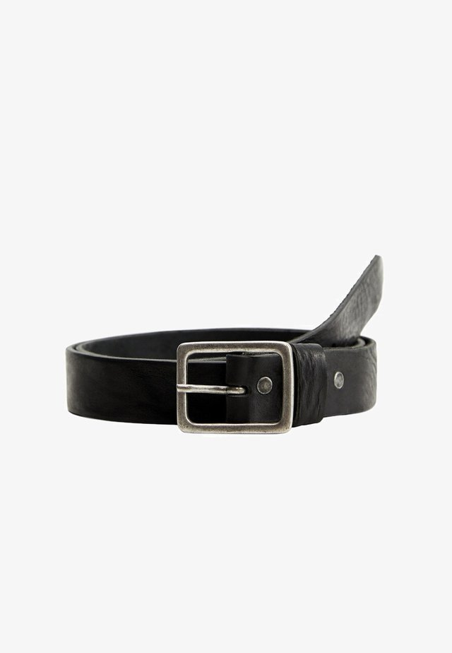 WASH - Belt - noir