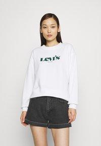 Levi's® - GRAPHIC STANDARD CREW - Felpa - white - 0