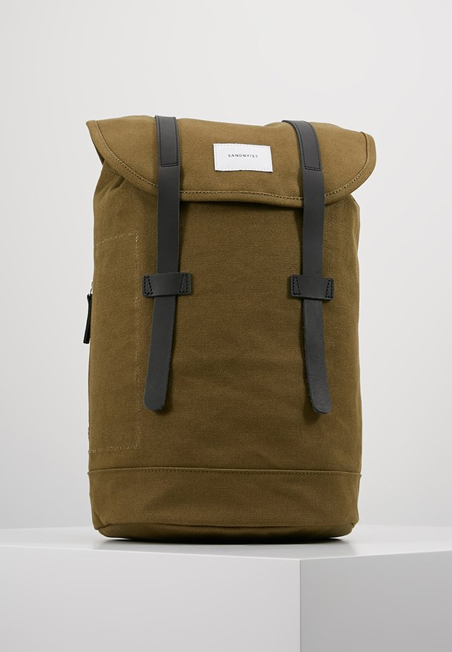 STIG - Rucksack - dark olive with black