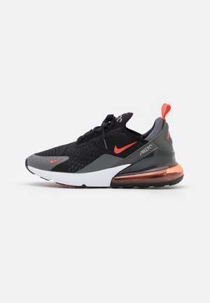 AIR MAX 270 - Sneakers basse - black/team orange/iron grey/turf orange/white/light smoke grey
