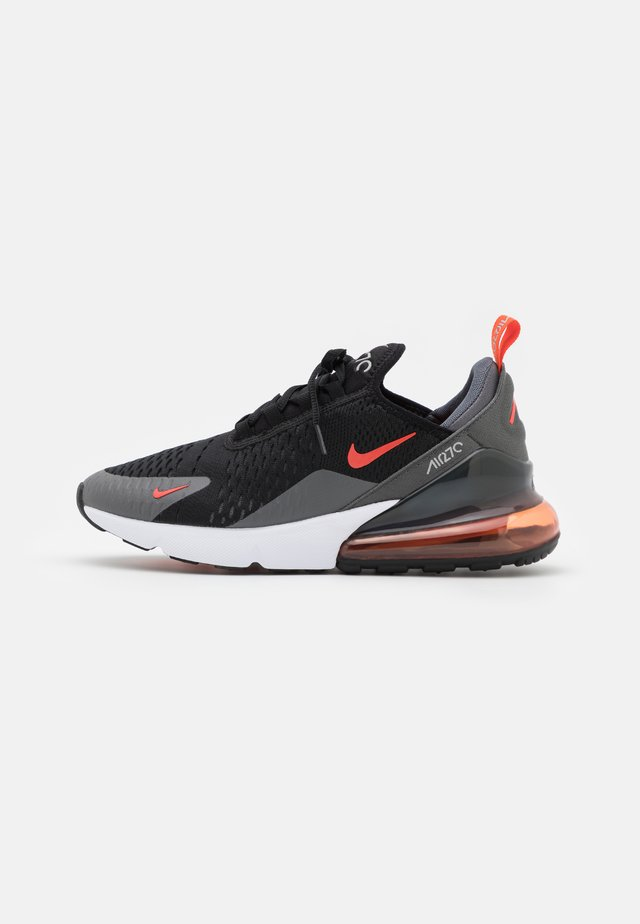 AIR MAX 270 - Sneaker low - black/team orange/iron grey/turf orange/white/light smoke grey