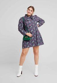 Fashion Union Plus - HIGH NECK DRESS WITH NECK TIE - Day dress - vintage meadow - 2