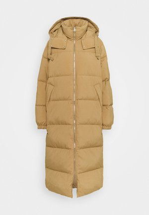 COAT - Down coat - beige dark