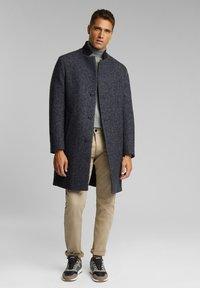 Esprit Collection - Classic coat - dark grey - 0