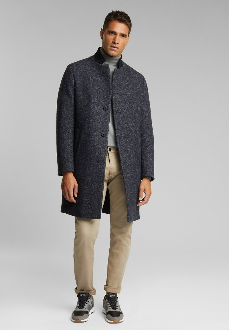 Esprit Collection - Classic coat - dark grey