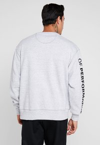 Under Armour - PERFORMANCE ORIGINATORS CREW - Sweatshirts - steel light heather/black - 2