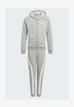 BOLD HOODED TRACKSUIT - Trainingsbroek - grey