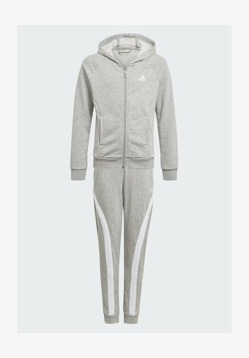 BOLD HOODED TRACKSUIT - Tracksuit bottoms - grey