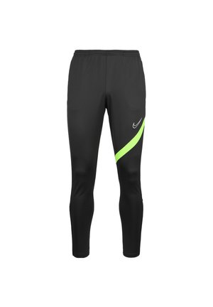 DRY ACADEMY PRO - Tracksuit bottoms - anthracite / volt / white