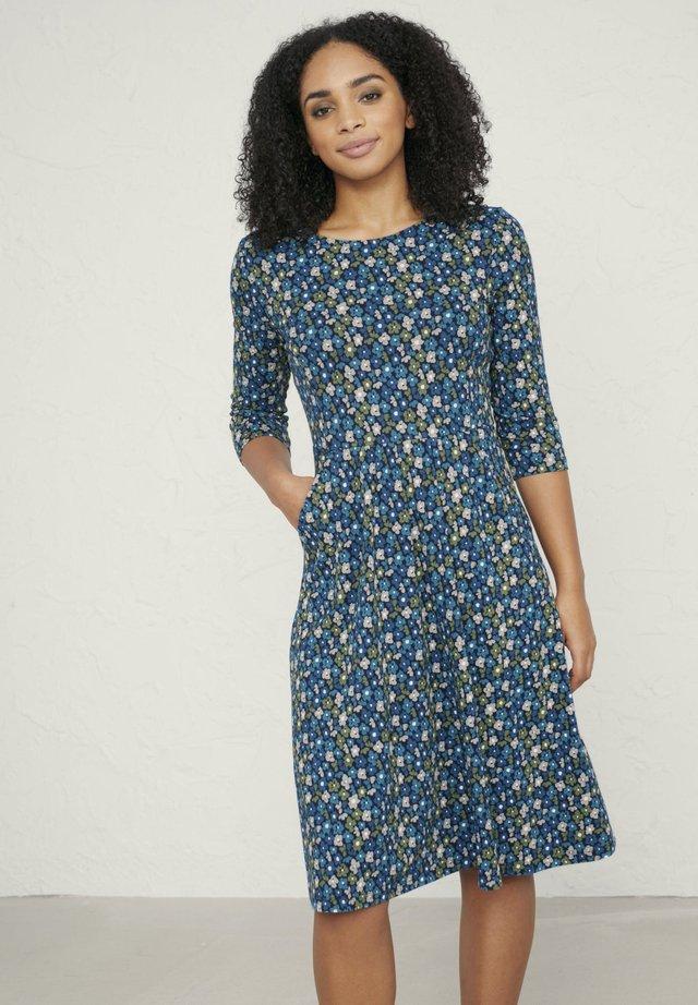 APRIL - Jerseyklänning - dark blue