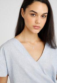 Pilgrim - NECKLACE E - Necklace - silver-coloured - 1