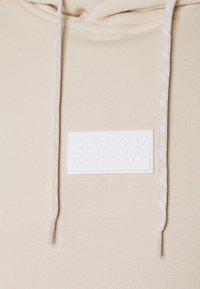 adidas Originals - SILICON HOODY UNISEX - Sweat à capuche - halo ivory - 2