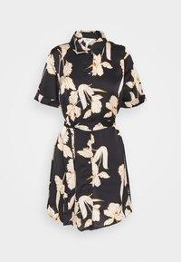 Object Petite - OBJLAUREN DRESS - Denní šaty - black - 0