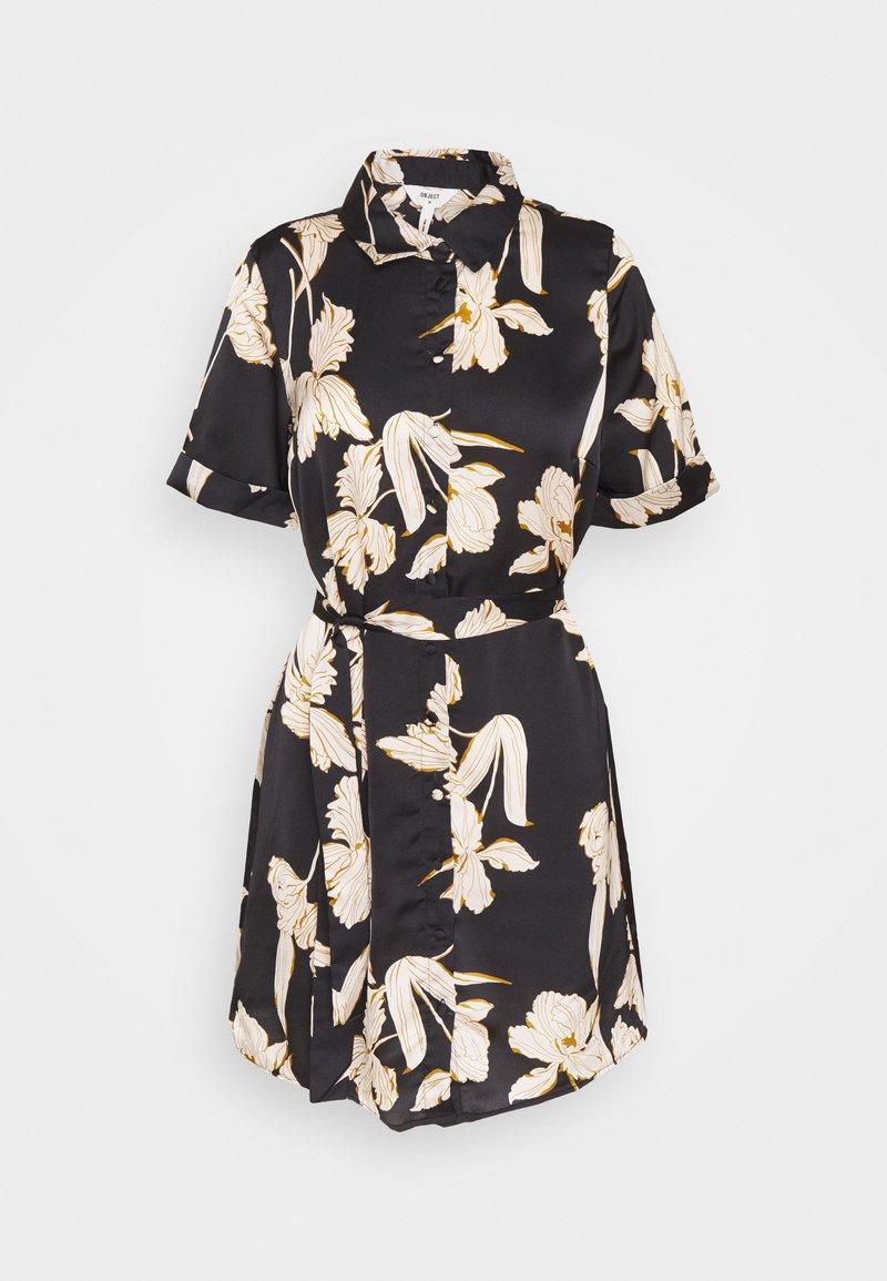 Object Petite - OBJLAUREN DRESS - Denní šaty - black