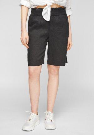 Short en jean - black melange