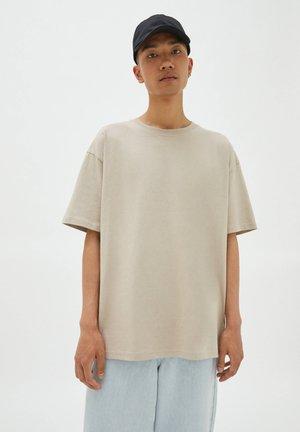 T-paita - mottled beige