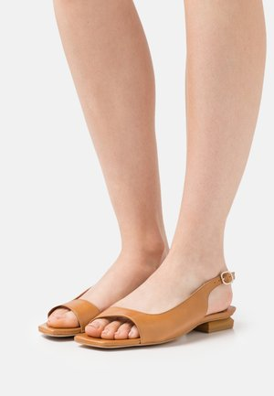 Ankle strap ballet pumps - sol