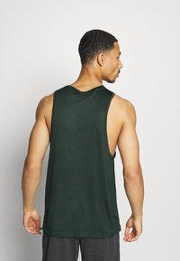 Nike Performance - TANK DRY - Camiseta de deporte - sequoia/galactic jade/heather/black - 2