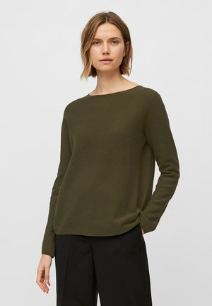SOLID, STRUCT - Sweatshirt - native olive