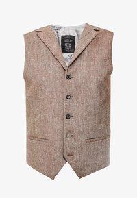 Shelby & Sons - CRANBROOK WAISTCOAT - Waistcoat - light brown - 4