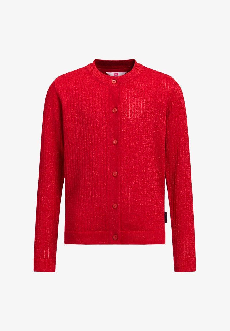 WE Fashion - Cardigan - red