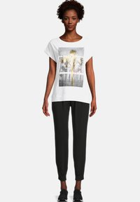Cartoon - Print T-shirt - white/gold - 1
