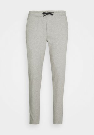 MOREL PANTS - Teplákové kalhoty - mid grey melange
