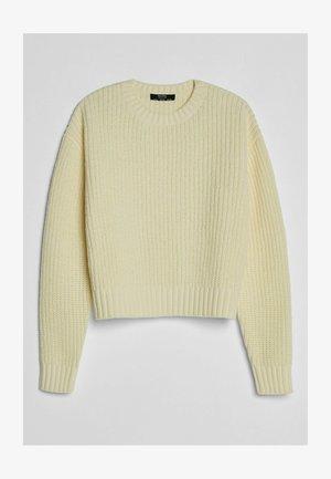 AUS CHENILLE  - Sweter - yellow