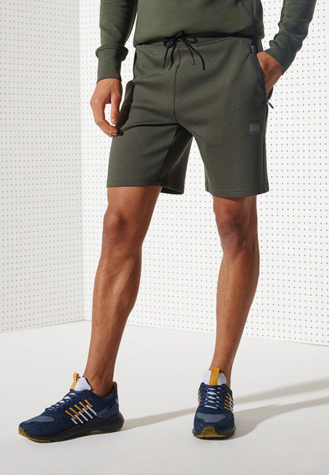 TRAINING GYMTECH - Shorts - army khaki