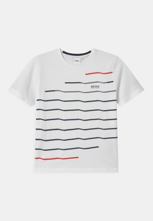 SHORT SLEEVES  - Print T-shirt - white