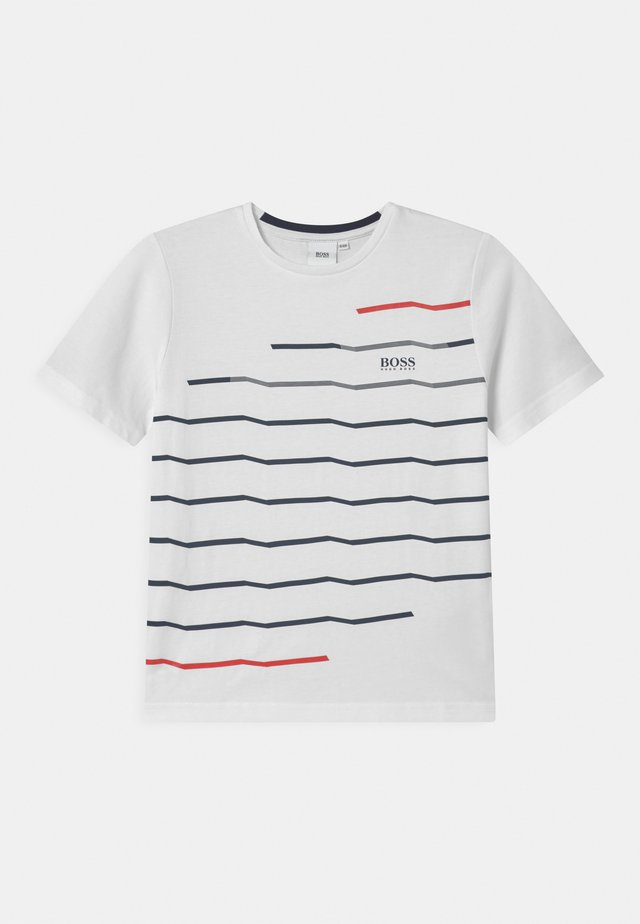 SHORT SLEEVES  - T-shirt con stampa - white