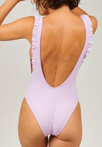 Girls in Paris - Swimsuit - purple - 2