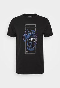 CLOSURE London - SCRIPT TEE - Triko s potiskem - black - 4